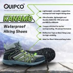 QUIPCO Kanamo Waterproof Hiking Shoes – Unisex