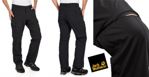 Jack Wolfskin Zip Off Dri Fit Pant
