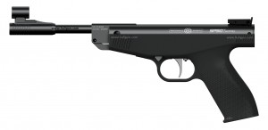Aries SP60 0.177 Spring Air Pistol | Glossy Black Finish Barrel | Precihole Air Pistols