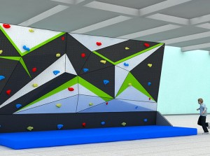 BOULDERING WALL / CLIMBING GYM