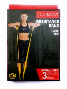 Add-gear™ Exercise Band, Long Natural Latex Resistance Bands, Sport Yoga Physio Bands Natural Latex Elastic Exercise Equipment for Physical Therapy, Pilates, Stretch, Yoga, Strength Training Workout.