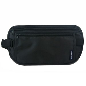 Add-Gear Money Belt for Travel - Hidden Waist Pouch Passport ID Wallet Holder