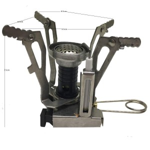 Add-gear Compact Camping Cookware Mini Butane Gas Portable Camp Stove