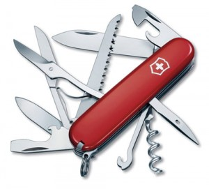 Victorinox Huntsman 15 Function Multi Utility Swiss Knife