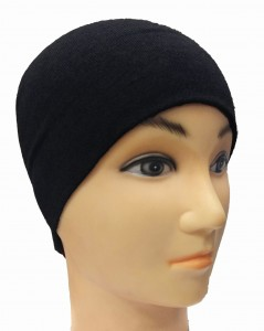 Add-gear Double layered Cuff-less Under Helmet Liner Winter 100% Cotton Hosiery Beanie Skull Cap