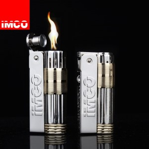 Imco Windproof Petrol Lighter - Imco Triplex 6700 Vintage Lighter - Austria