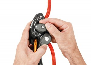 PETZL GRIGRI+ Belay device with assisted braking