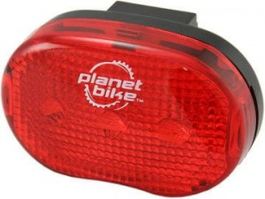 Planet Bike Blinky 3 LED Cycle Taillight