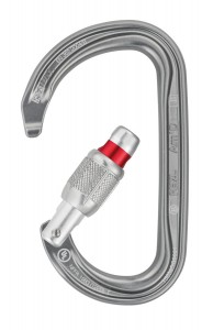 PETZL Am'D D-shaped Screw locking carabiner