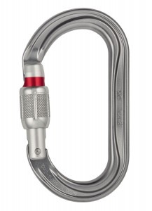 PETZL OK Screw Lock Oval Carabiner