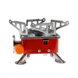Portable Square-Shaped Gas Butane Burner Camping Hiking Picnic Stove