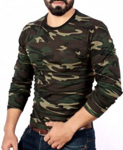 Add-gear dri-Fit Camo full Sleeve Hiking T Shirts