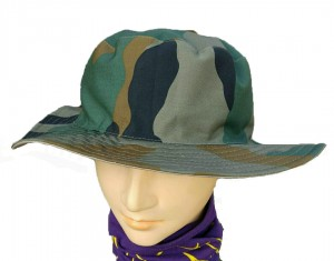 Army / Military Camo Reversible Hat
