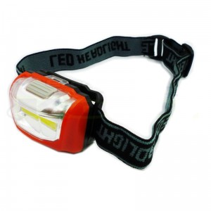 LED Headlamp 3W Super Bright COB Flashlight