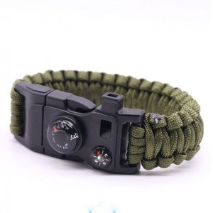 Paracord 550 Bracelet (15 in 1) Multifuctional Survival Kit