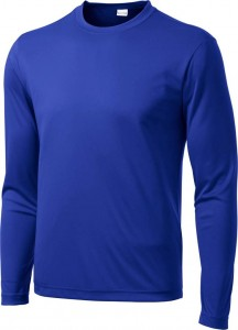 Dri Fit Mens Long Sleeve Hiking Running T Shirt