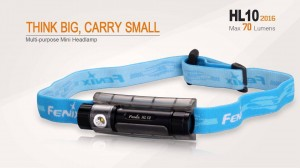 Fenix HL10 Headlamp/Flashlight (1xAAA, 70 Lumens) with Flood and Throw Output