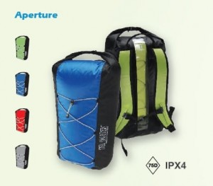 Jr Gear - APERTURE light wt Dry backpack