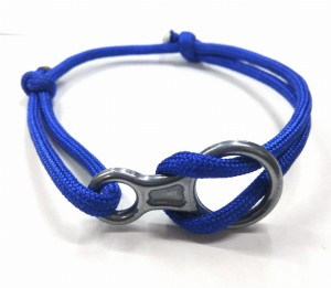 Add-gear Rock Climbing Fig 8 Descender Bracelet, Climbing Rope Bracelet, Climber Bracelet