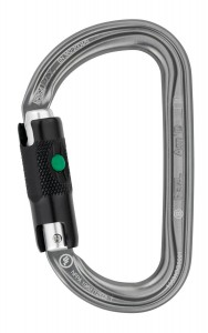 PETZL Am'D D-shaped Twist locking carabiner
