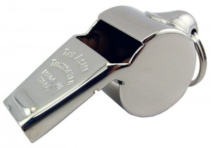 Joseph Hudson's ACME THUNDERER Whistle - Brass Whistle
