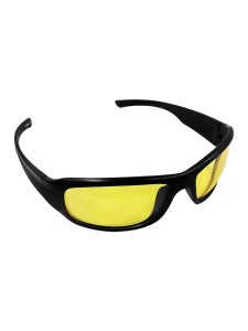 Night vision goggles with yellow lens (Black Frame)