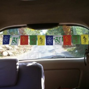 Add-gear Velvet / Nylon Tibetian Budhist Prayer Flag for Car